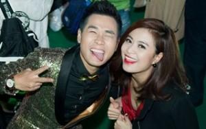 Ca nhạc - MTV - Hoàng Thùy Linh thân thiết đón năm mới với Nguyên Khang