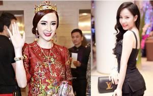 """Người mẫu - Hoa hậu - 3 mỹ nhân Việt dát hàng hiệu xa xỉ """"từ đầu tới chân"""""""