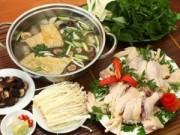 Ẩm thực - Công thức cho món lẩu gà nấm ngon mê ly