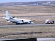 Tin tức trong ngày - Scotland: Máy bay bị gió thổi bay khỏi đường băng