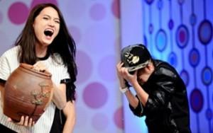 Ca nhạc - MTV - Khởi My bị Hương Giang Idol dội nước lạnh