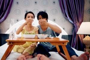 Phim - Vợ chồng Dustin Nguyễn ước mơ được ăn hột vịt lộn trong khách sạn