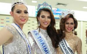 Người mẫu - Hoa hậu - Dàn hoa hậu chuyển giới nô nức đọ sắc ở Bangkok