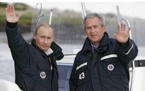 Thế giới - Cựu Tổng thống Bush kể chuyện câu cá với Tổng thống Putin