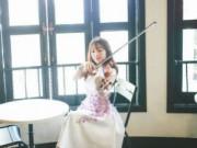 """Bạn trẻ - Cuộc sống - Cô gái xinh đẹp cover """"Chắc ai đó sẽ về"""" bằng violin"""