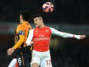 """Video bàn thắng - Arsenal – Hull: Bẻ nanh """"hổ dữ"""""""