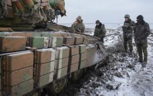Thế giới - Đón năm mới ở vùng chiến sự Donetsk
