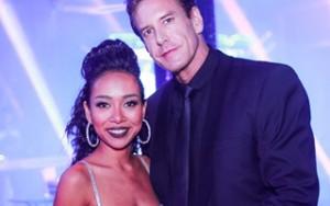 Ngôi sao điện ảnh - Thảo Trang gợi cảm dự tiệc với bạn trai ngoại quốc