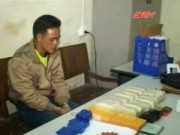 Video An ninh - Bắt 9X vận chuyển 2 bánh heroin và 30.000 viên ma túy