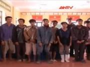Video An ninh - Vây bắt 10 kẻ hung hãn, phá tường KCN để trộm cắp