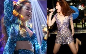 Ca nhạc - MTV - Hoàng Thùy Linh, Hà Hồ diện váy ngắn, nhảy bốc lửa