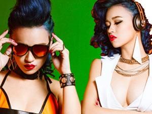 Bạn trẻ - Cuộc sống - DJ Tít cá tính với sắc màu nổi bật