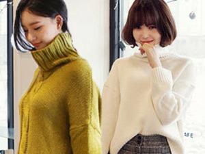 4 phong cách dễ mặc với áo len cổ lọ