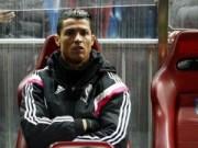Bóng đá Tây Ban Nha - Phải ngồi dự bị, Ronaldo khó chịu ra mặt