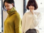 Thời trang - 4 phong cách dễ mặc với áo len cổ lọ