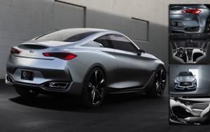 """Ô tô - Xe máy - Infiniti Q60 lộ diện đầy đủ """"ám ảnh"""" BMW 4-Series"""