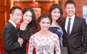 Ngôi sao điện ảnh - Vợ Đăng Dương, Việt Hoàn sành điệu đi sự kiện