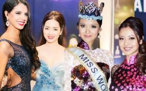 Thời trang - So vẻ quyến rũ của hoa hậu, mẫu Việt bên sao ngoại