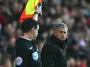 Tin bên lề bóng đá - Gây hấn trọng tài, Mourinho sắp bị trừng phạt