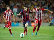 """Bóng đá Tây Ban Nha - Liga trước vòng 18: """"Đại chiến"""" Barca-Atletico"""