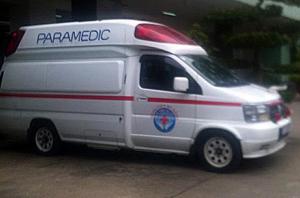 Tin tức trong ngày - Cận cảnh xe cứu thương chở ông Nguyễn Bá Thanh