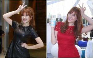 Ngôi sao điện ảnh - Hari Won rạng rỡ tất bật chạy show sự kiện
