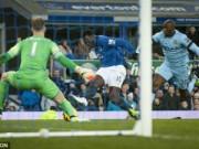 Video bàn thắng - Everton - Man City: Đối thủ cứng đầu