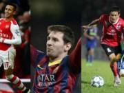 """Bóng đá Ngoại hạng Anh - Cầu thủ ấn tượng nhất tuần 5-11/1: Messi """"đấu"""" Chí Công"""