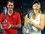 Xếp hạng Tennis - BXH Tennis 12/1: Điểm nhấn Federer & Sharapova