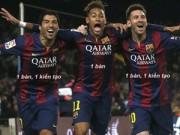 Bóng đá - Ảnh chế: CR7 - Bale hục hặc, Messi - Enrique làm lành
