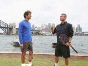 """Tennis - Federer đánh """"Tennis siêu tốc"""" trên du thuyền"""