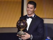 Bóng đá Đức - Ronaldo giành QBV FIFA 2014