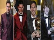 """Bóng đá - Thời trang của Messi """"đẹp"""" lên qua từng năm"""