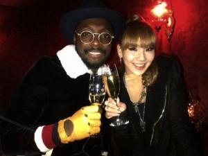 Black Eyed Peas mời CL (2NE1) hợp tác trong album mới