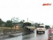 """Video An ninh - Những """"cái bẫy"""" chết người trên quốc lộ 1A"""