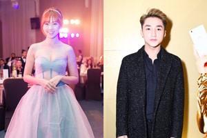 Ngôi sao điện ảnh - Sơn Tùng bảnh bao bên Hari Won xinh đẹp đi sự kiện