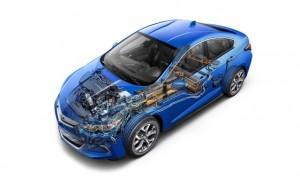 Xe xịn - Chevrolet tung phiên bản Chevy Volt mới tại Detroit 2015