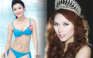 """Người mẫu - Hoa hậu - 4 á hậu Việt hứng nhiều """"gạch đá"""" dư luận nhất"""