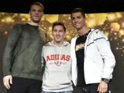 """Video bóng đá hot - Clip độc: Neuer nhờ Roy Keane """"xử đẹp"""" Ronaldo"""