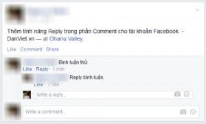 Thủ thuật - Tiện ích - Mẹo Facebook: Tự thêm tính năng Reply vào phần bình luận