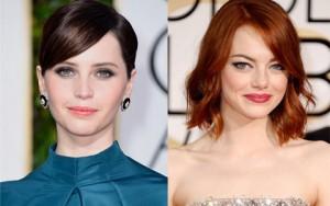 """15 khuôn mặt được """"tô vẽ"""" đẹp nhất Quả cầu vàng 2015"""