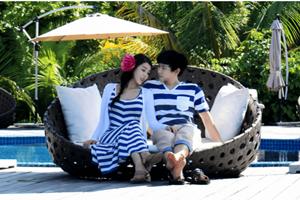 Sao ngoại-sao nội - Ảnh trăng mật tuyệt đẹp của vợ chồng Sungmin (Super Junior)