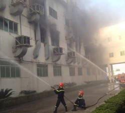 Tin tức trong ngày - Bắc Ninh: Cháy lớn ở KCN Quế Võ, cột khói bốc cao
