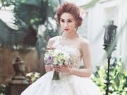 Sao ngoại-sao nội - Ngân Khánh đẹp buồn khi mặc váy cô dâu