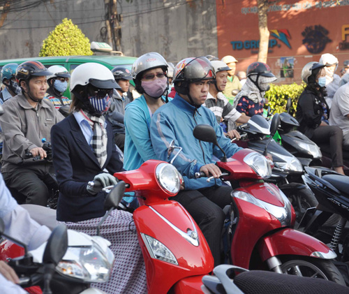 Sài Gòn lạnh nhất trong 10 năm nay