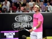 """Tennis - Nadal """"tự sướng"""" khi đánh tennis siêu tốc"""