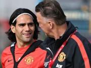 Bóng đá Ngoại hạng Anh - Van Gaal & cơn đau đầu mang tên Falcao