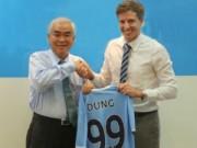 Bóng đá Việt Nam - VFF bắt tay đào tạo cầu thủ trẻ với Man City