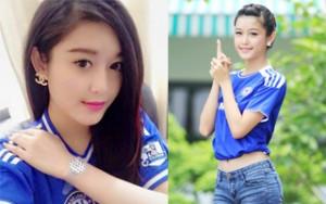 Thời trang - FC Chelsea thế giới bất ngờ đăng ảnh Á Hậu Huyền My