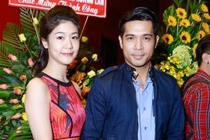 Trương Thế Vinh cùng bạn gái phi công dự ra mắt phim